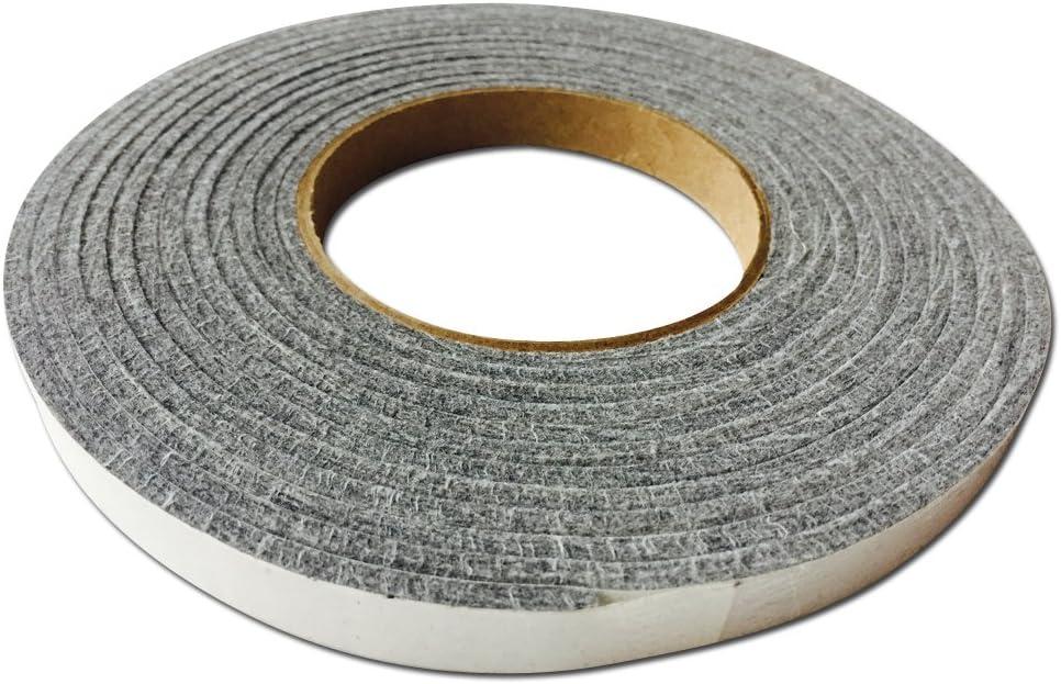 LavaLock® 12 Grey High Performance BBQ Gasket Smoker Seal SELF Stick