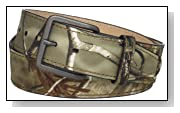 RealTree Camo Men's Leather Lining Belt