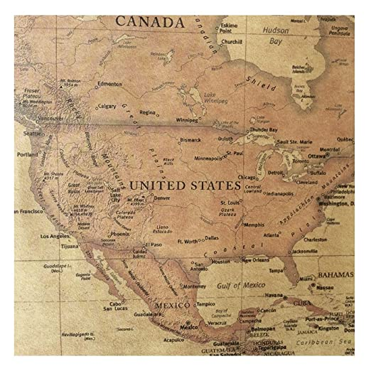 Amazon chimage choose size the old world map huge large amazon chimage choose size the old world map huge large vintage style retro paper poster home wall decoration posters prints gumiabroncs Gallery