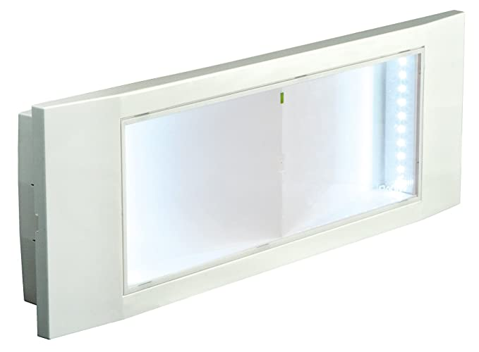 Plafoniera Led Con Emergenza : Beghelli beg plafoniera emergenza led w multicolore amazon
