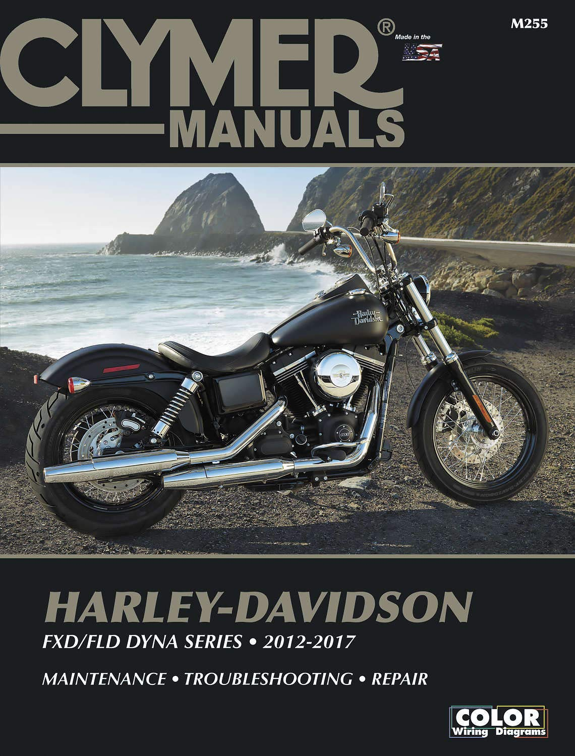 Clymer Harley Davidson DYNA Series '12-'15 Manual on