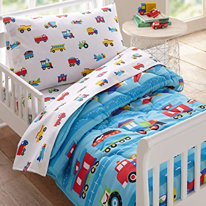 nEw TODDLER THEMED BED SHEETS SET Cute Kids Room Bedding Sheets Pillowcase