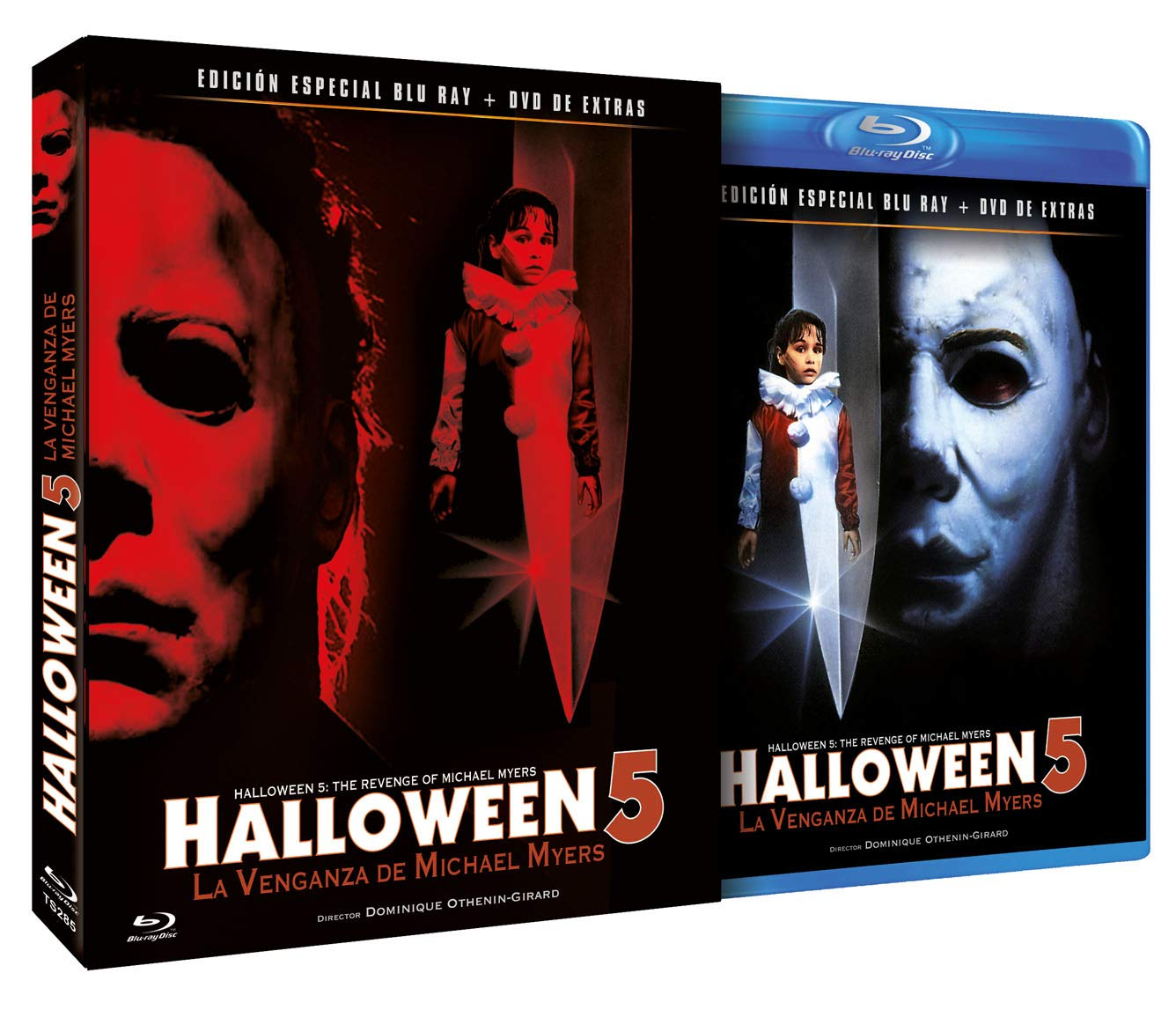 Halloween 5 Blu Ray.Halloween 5 The Revenge Of Michael Myers Spanish Release Include