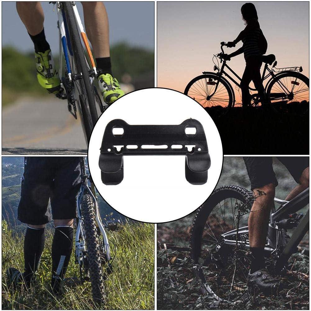 Clara Tracy Soporte de Bomba de Bicicleta de Bicicleta de Bicicleta Negra Soporte de Clips de retenci/ón de Bomba port/átil
