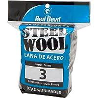 Red Devil lana de acero, 3 grueso, 8 bloques de notas