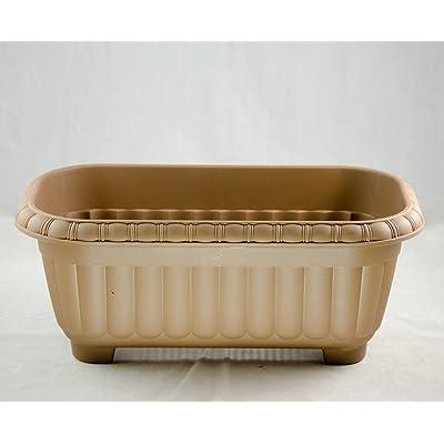 """Japanese Plastic Bonsai Training Pot/Home Garden Flower Planter 15""""x 8""""x 6"""" : Garden & Outdoor"""