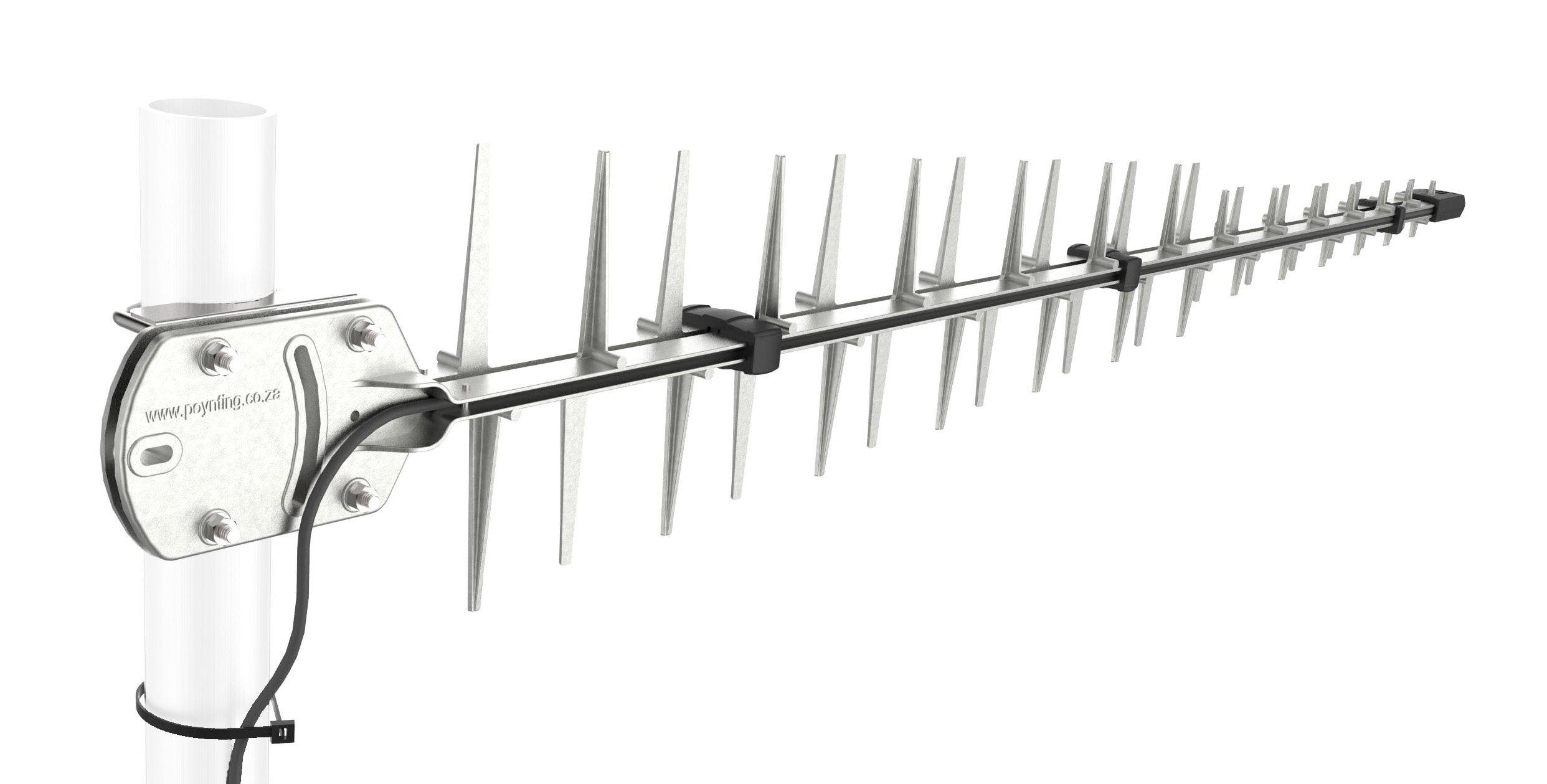 698 - 3000 MHz LPDA High Gain Directional Outdoor Antenna