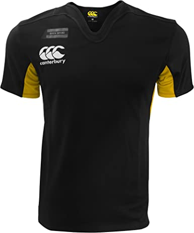 Canterbury Boys Vapodri Challenge Hooped Rugby Training Jersey