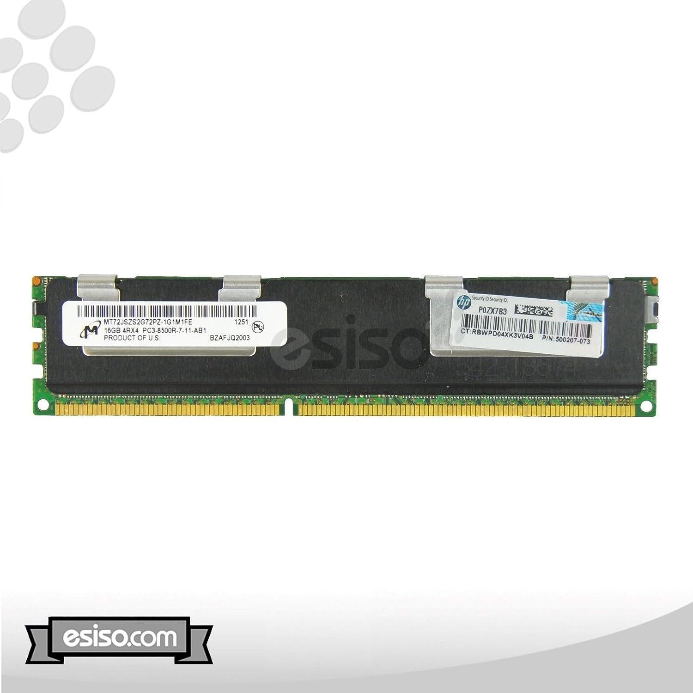 Genuine 647056-001 1X16GB 647056-001 Genuine 16GB 4RX4 PC3-8500R Memory Module