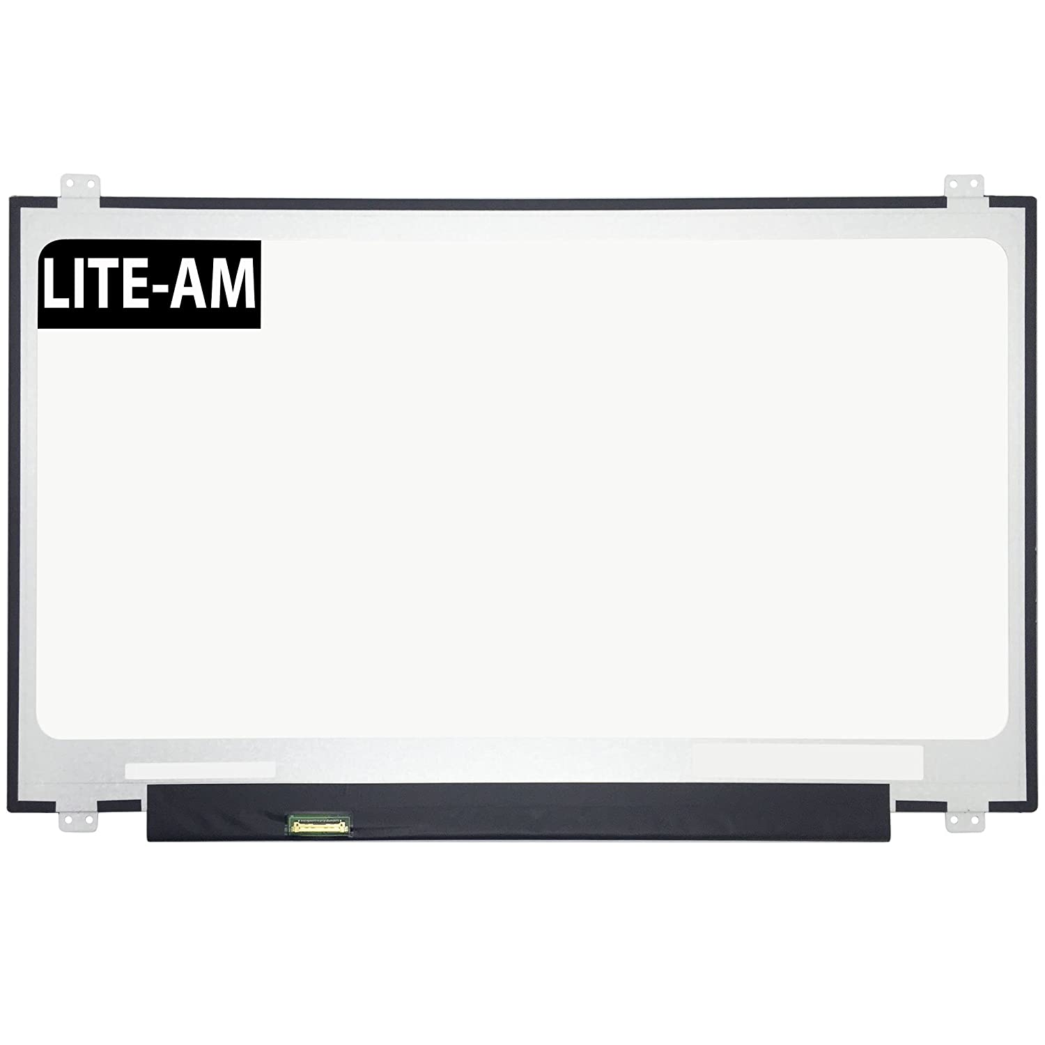 Lite-am ® Ersatz 43, 9 cm Laptop LED LCD Bildschirm EDV HD + Display IBM Lenovo IdeaPad 110 43, 2 cm B71–80 Typ 80rj n173fga-e34 N173fga-e44 b173rtn02.1 b173rtn02.2