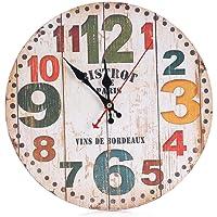 Relojes de pared Sannysis Despertadores electrónicos reloj