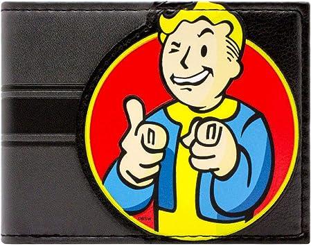 Cartera de Bethesda Fallout 4 Vault Boy Charisma Negro
