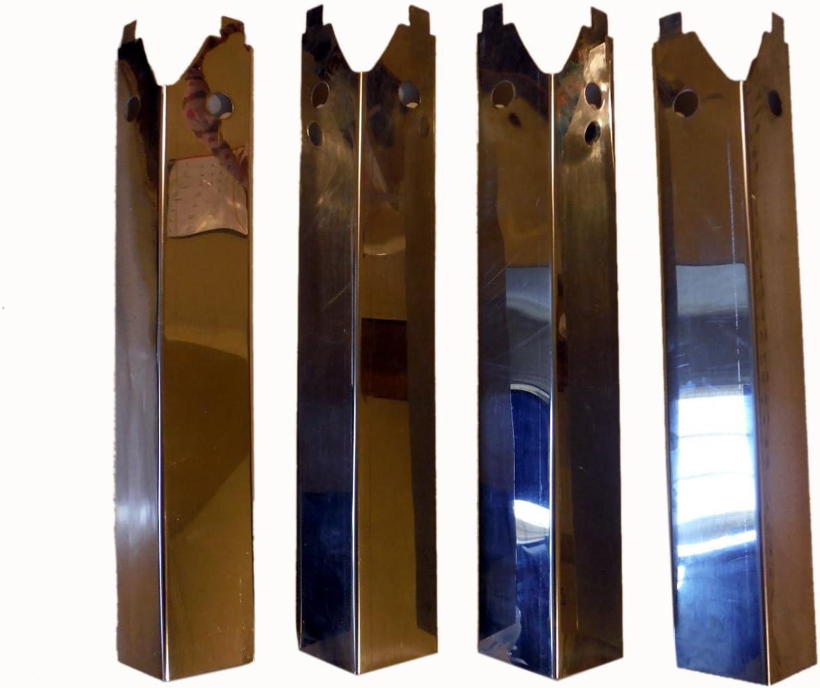 Lot de 4 plaques chauffantes pour barbecue Uniflame GBC750W