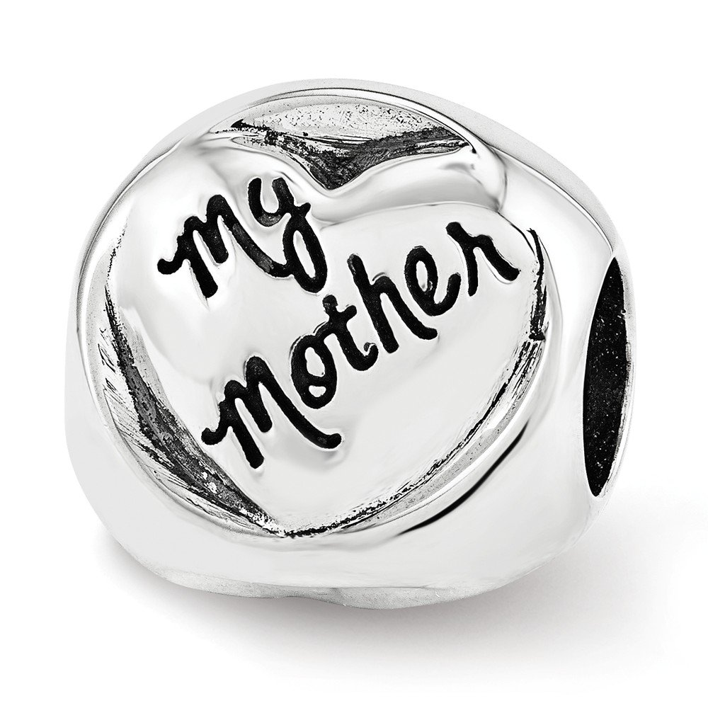 Sterling Silver Reflections My Mother My Friend Trilogy Bead