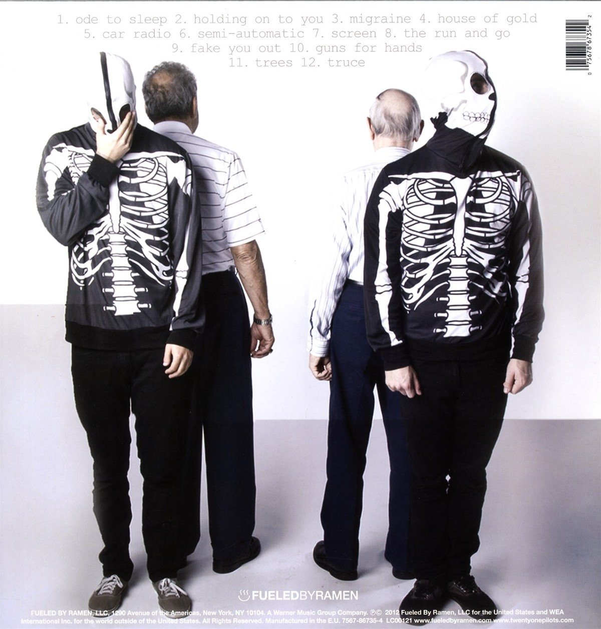 Vessel (Clear Colored Vinyl w/Digital Download) by Fueled By Ramen (Image #2)