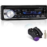 Autoradio Bluetooth, CENXINY 1 DIN Radio Voiture Récepteur avec Lecteur MP3 WMA FM, Deux USB Port,Main Libre Stéréo 4 x 65W Soutien iOS, Android