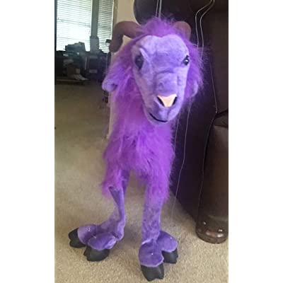 Sunny toys WB991P 38 in. Four - Leg Large Goat - Purple44; Large Marionette: Toys & Games
