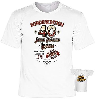 T Shirt 40 Geburtstag Geburtstagsshirt Sprüche Jahrgang
