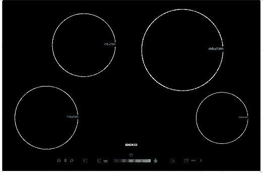Beko HII 84501 T - Vitrocerámica, color negro: Amazon.es: Hogar