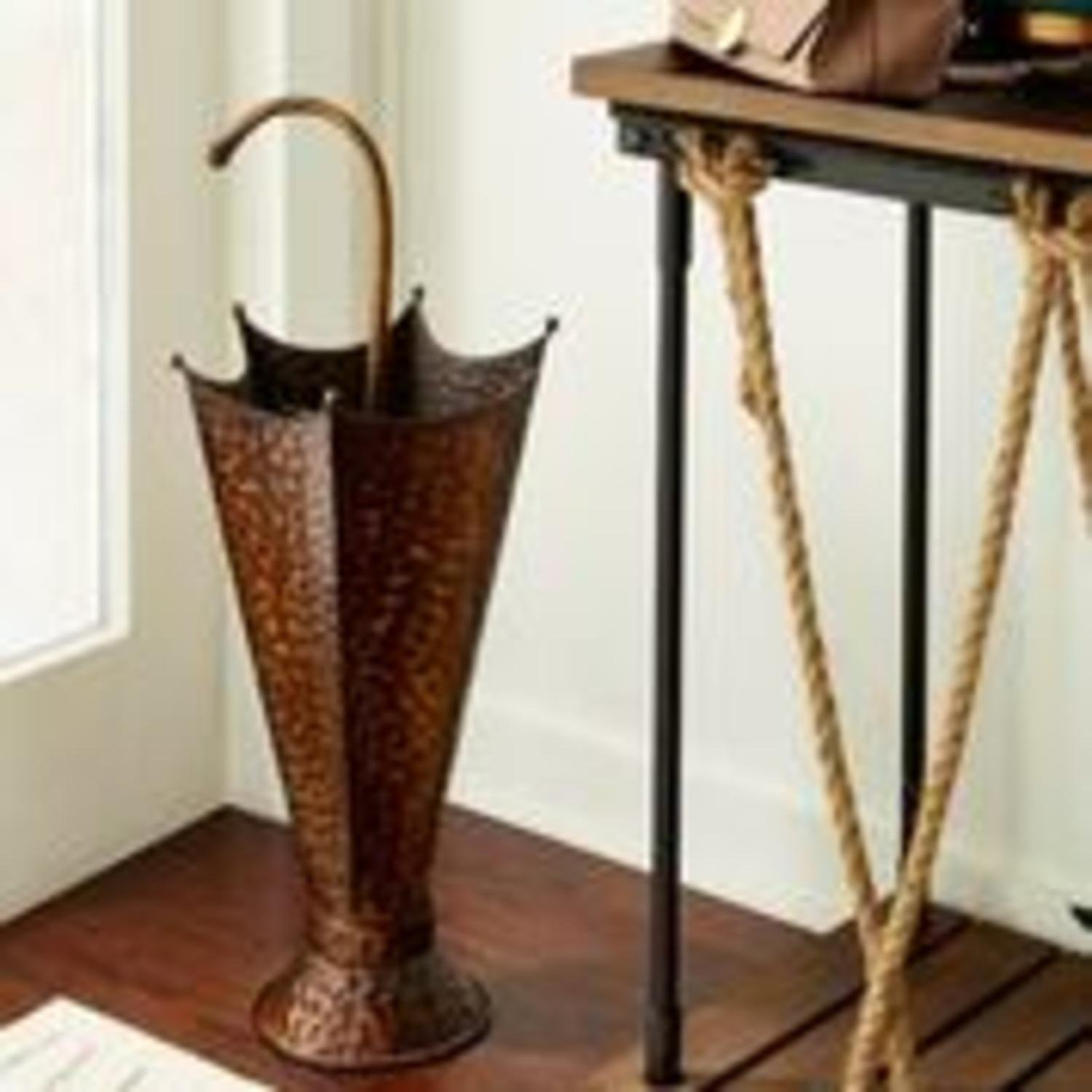 CC Home Furnishings 30'' Fun Novelty Double-Take Iron Umbrella Stand by CC Home Furnishings (Image #2)