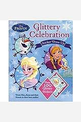 Disney Frozen Glittery Celebration Paperback