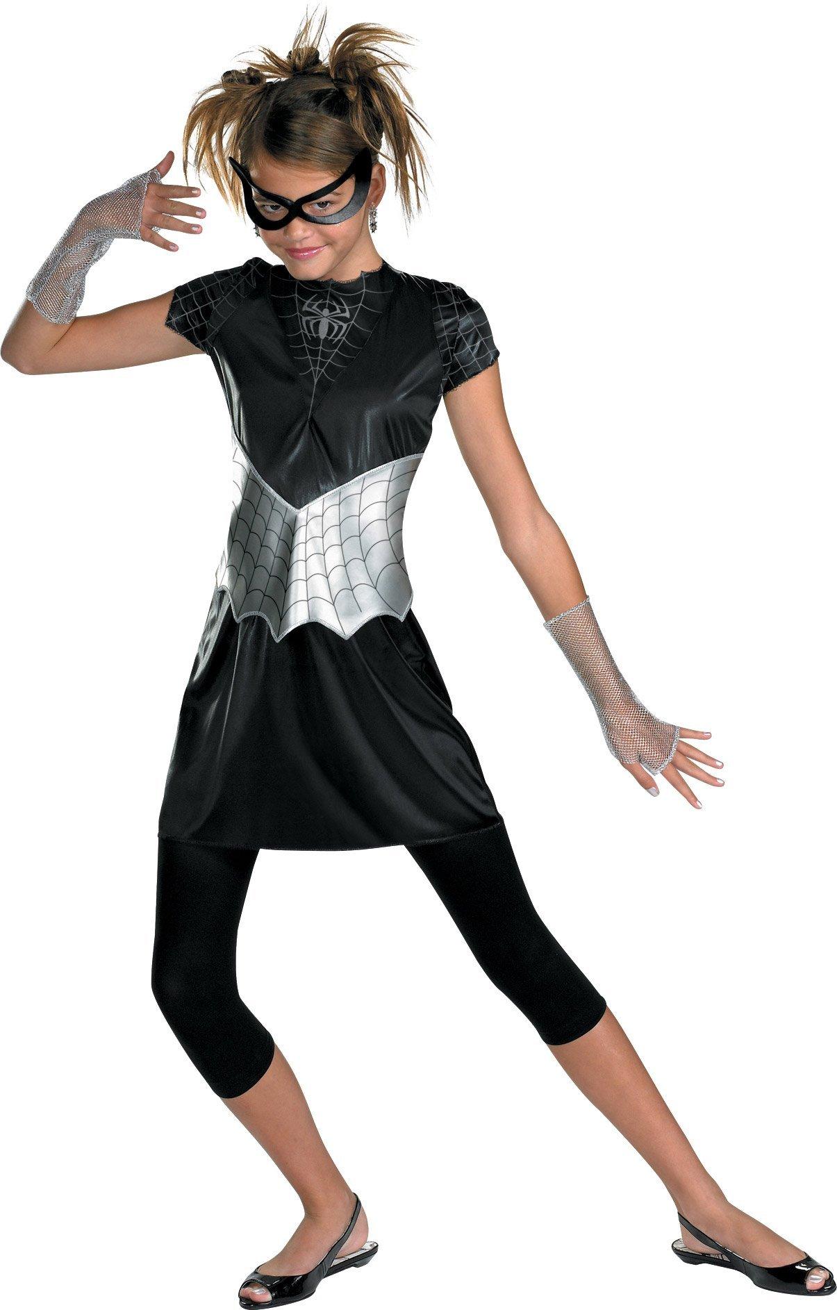 - 717dSYJbobL - BlackSuited SpiderGirl Costume M(78)