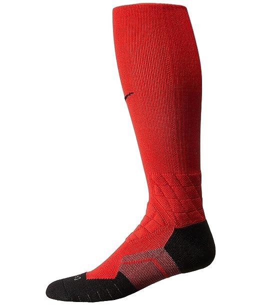 Nike Elite Vapor sobre la pantorrilla calcetines de fútbol de entrenamiento para hombre: Amazon.es: Ropa y accesorios