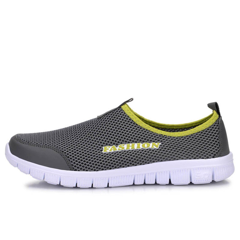 Men Shoes 2017 Light Comfortable Mesh Breathable Loafers Footwear Plus Size 38-46