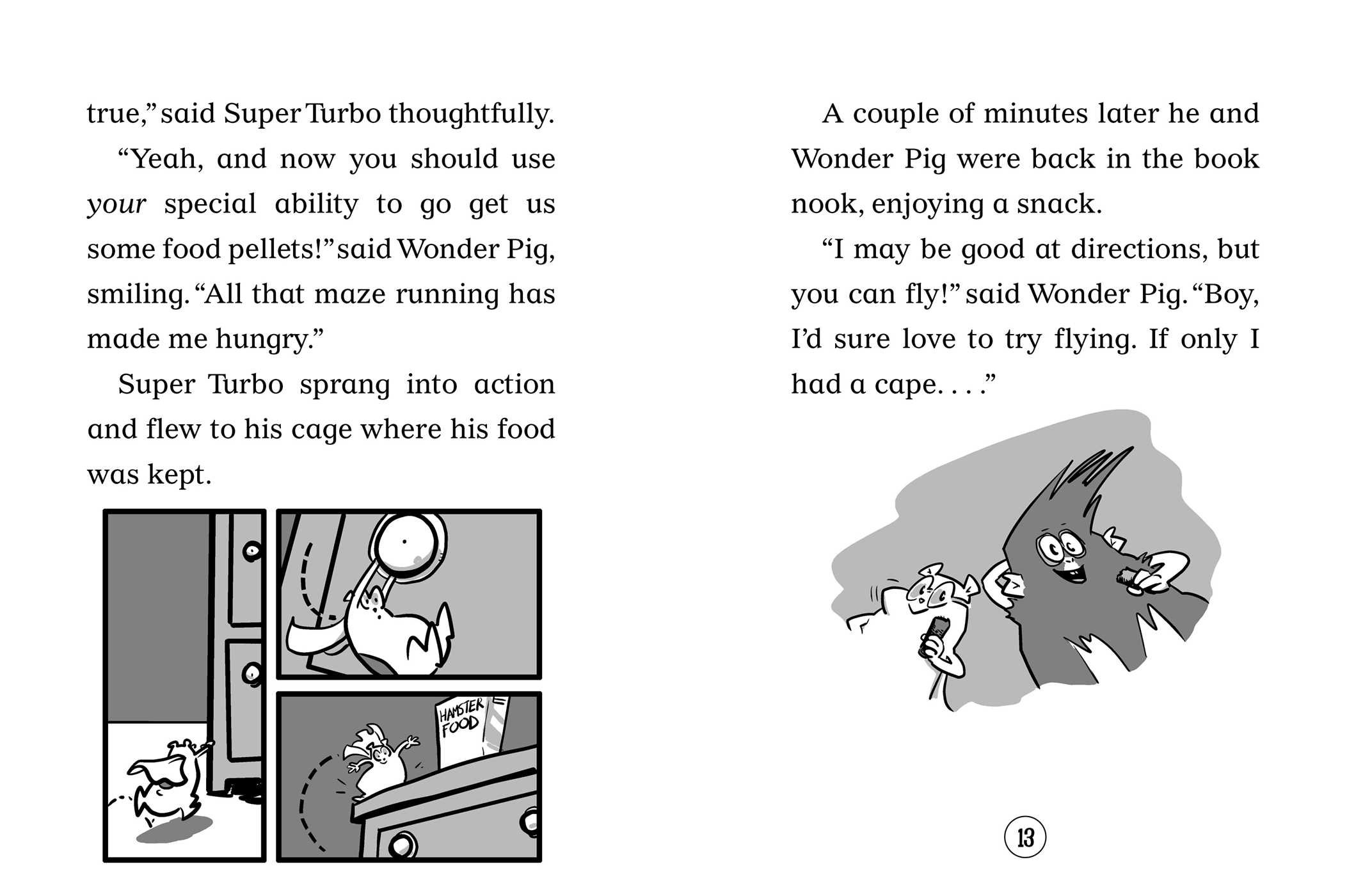 Amazon.com: Super Turbo vs. Wonder Pig (9781534411814): Lee Kirby, George OConnor: Books