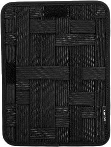 KeySmart Urban21 - Backpack & Bag Accessories (Grid Organizer, Black)
