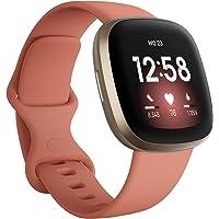 Fitbit Versa 3 - Smartwatch voor een actieve levensstijl met ingebouwde gps, minuten in actieve zones, spraakbediening…