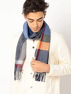 Wool Angora Scarf 118-36-0054: Blue