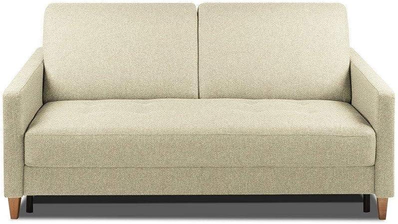 Inside sofá Convertible Oggetto colchón 14 cm Sistema Rapido ...