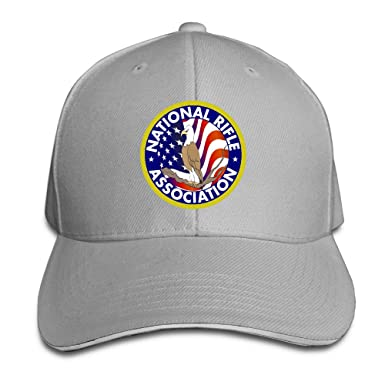 Amazon.com  NRA National Rifle Association Fitted Flex Snapback Hat Peaked Baseball  Cap  Clothing 7342c1a3723
