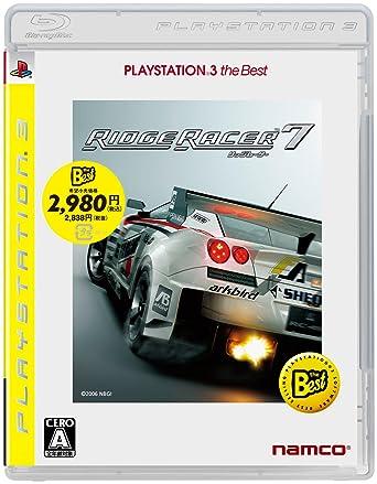 amazon リッジレーサー7 playstation 3 the best プレイステーション