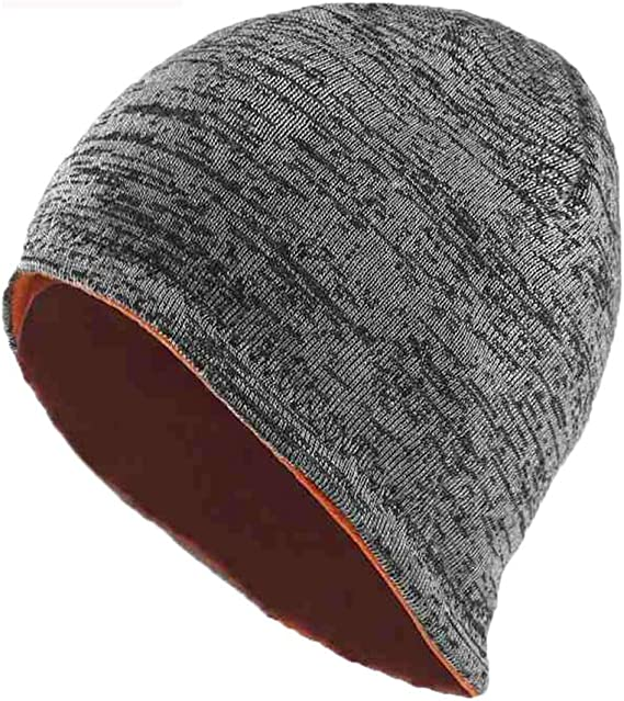 Color : Orange Y-Yan Mens Wool Cap Mens red Light Weight and Good Warmth Keep Warm in Winter Outdoor Riding Essential