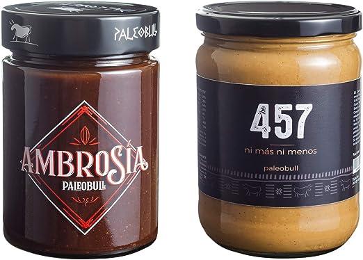 Pack Crema de Cacao y Avellanas Saludable Ambrosía 300 g y Crema ...