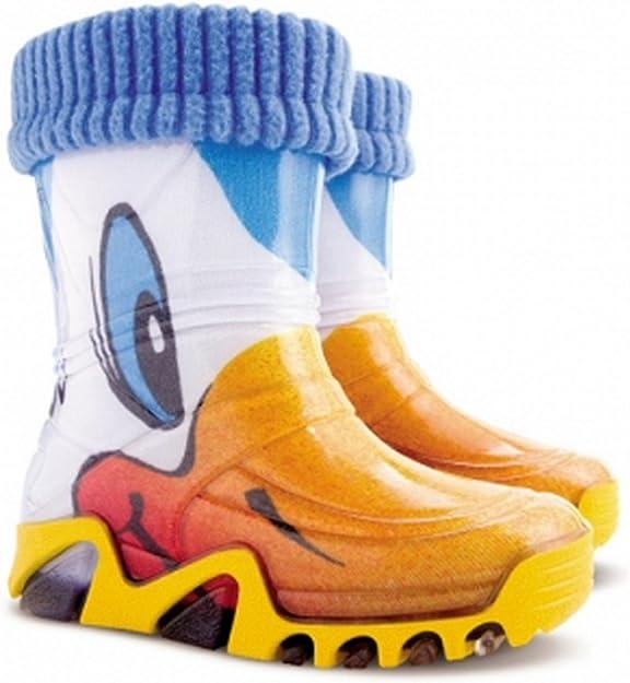 Imagen deDemar Lux Bright Botas de agua para niños y niñas con forro polar cálido