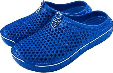 Lvptsh Zuecos de Hombre Zapatillas de Estar por Casa Pantuflas Zapatos de Jardín Zapatillas de Playa Sandalias Clogs de Verano Suave Chanclas Ligeras Transpirable Slippers