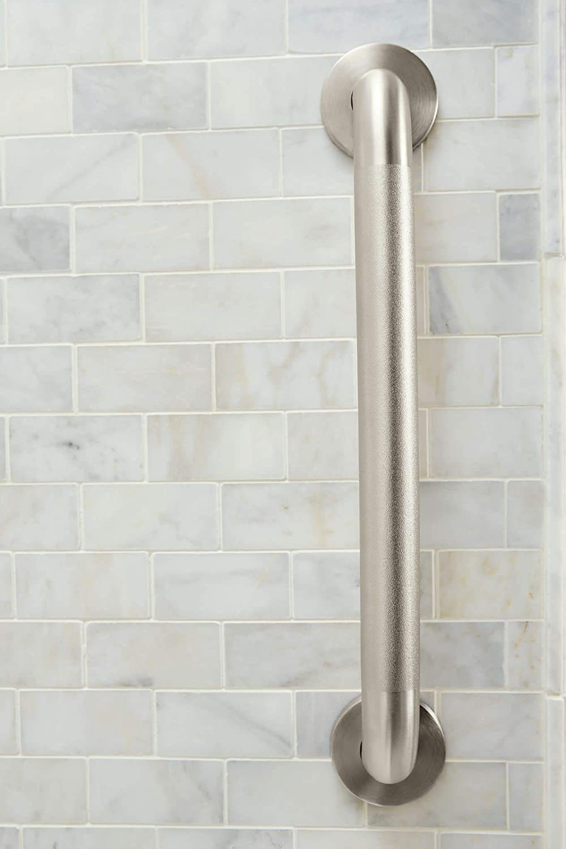 Amazon.com: Moen 8724 Home - Barra de baño de 24.0 in, acero ...