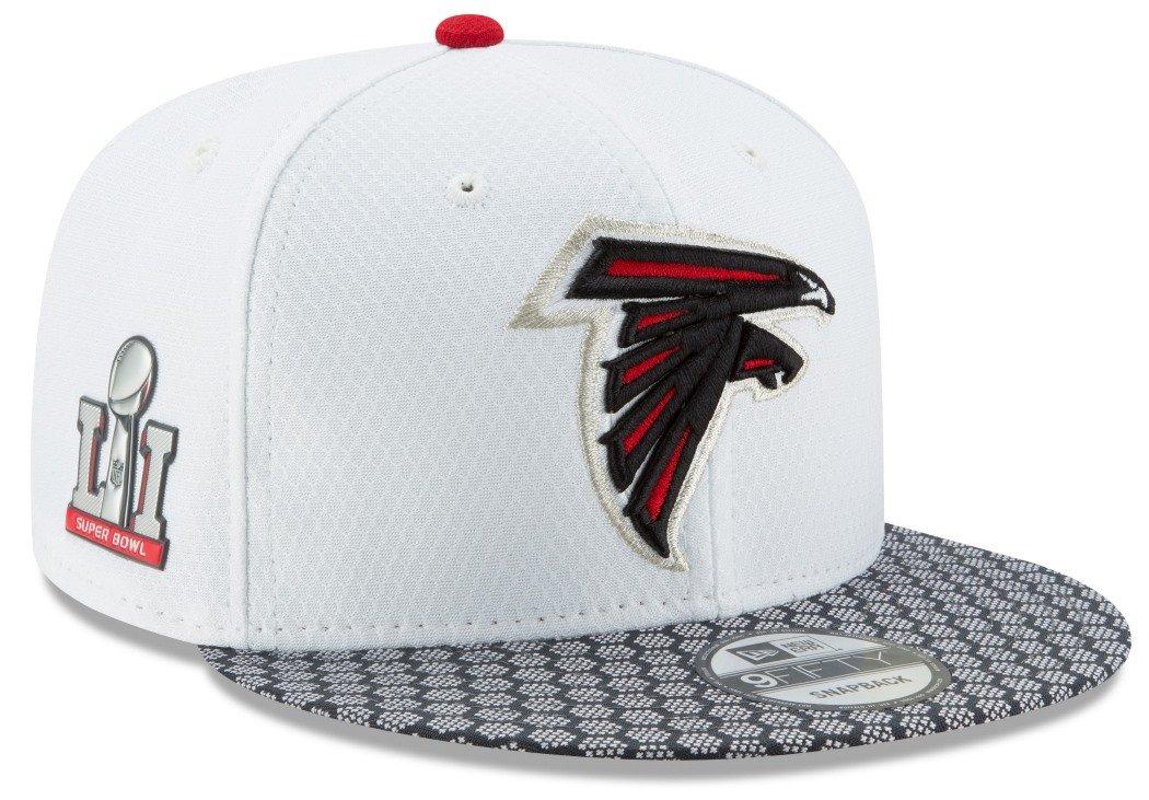 Amazon.com   New Era Atlanta Falcons NFL Super Bowl LI Opening Night  Snapback Cap 9fifty 950   Sports   Outdoors 54a55e98e