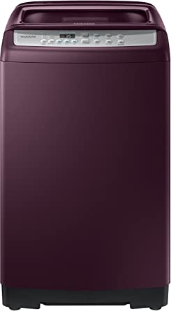 Samsung 6.5 kg Fully-Automatic Top Loading Washing Machine (WA65M4500HP/TL, Sparkling Plum)