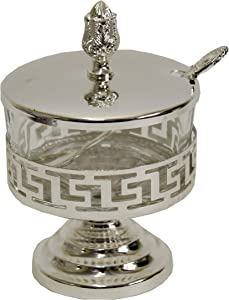 Majestic Giftware Decorative Silver Plated/Glass-4