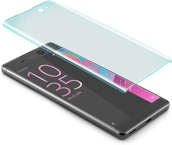 zanasta Protector de Pantalla Sony Xperia XA Ultra Vidrio Cristal Templado 3D | 9H Dureza Anti-rasguños [Cobertura Completa] Screen Protection Glass Transparente: Amazon.es: Electrónica
