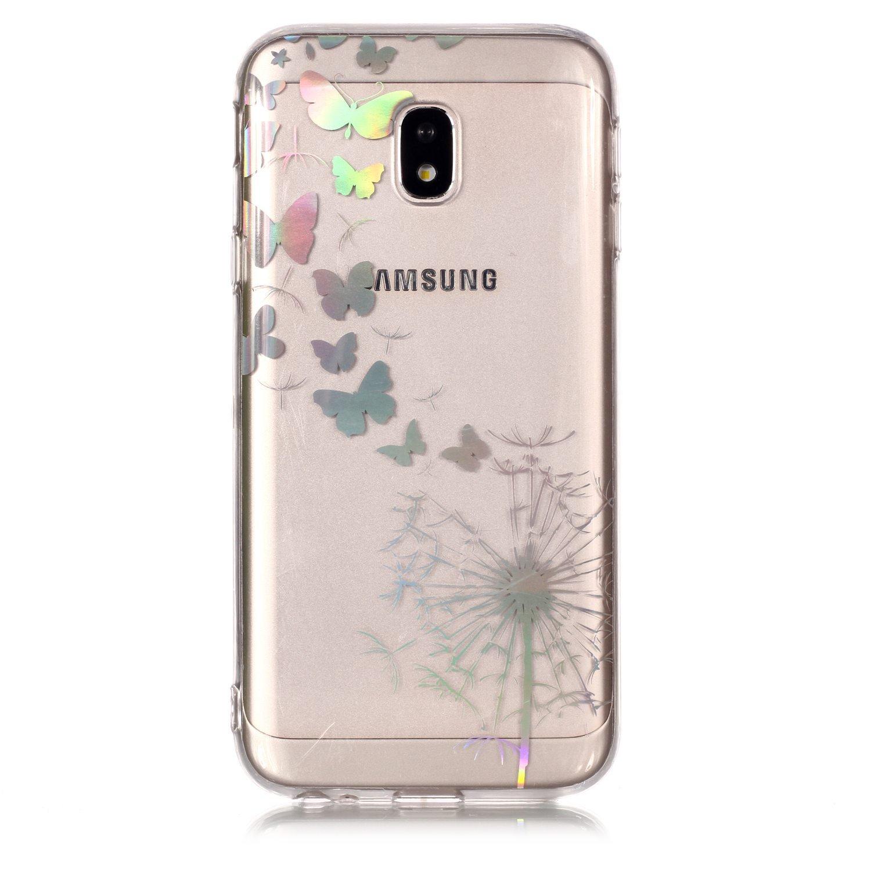 Rose HopMore Silicone Coque pour Samsung Galaxy J3 2017 Souple Motif Panda 3D Design Dr/ôle Mignonne Etui /Étui Antichoc Ultra Mince Fine Gel Bumper Slim Case Housse Protection avec Porte-cl/és