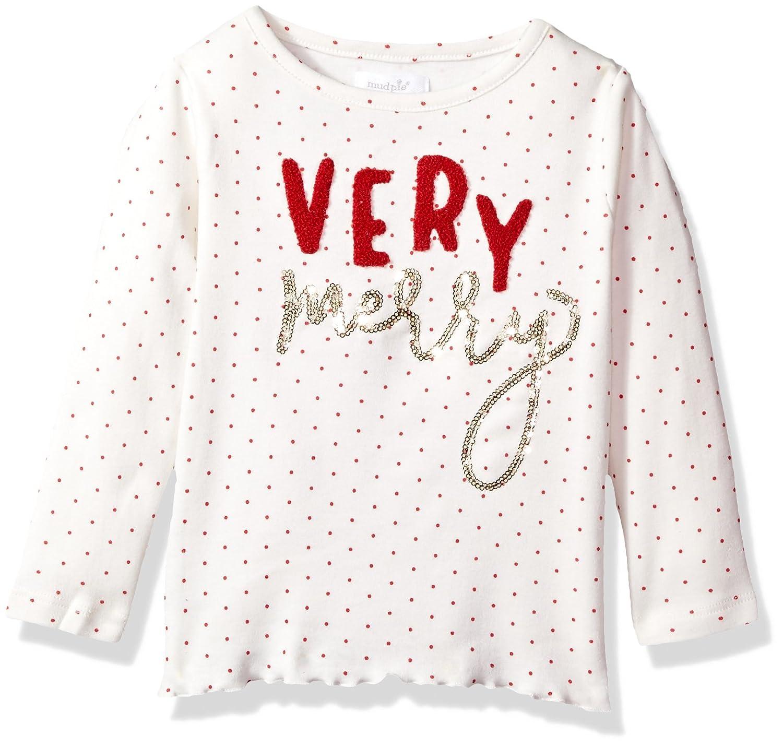 Mud Pie Baby Girls' Toddler Holiday Christmas Long Sleeve Tunic 1152047