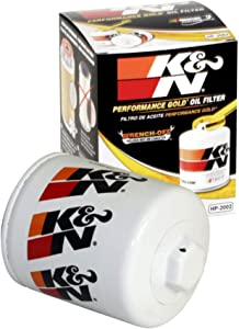 K&N Premium Oil Filter: Designed to Protect your Engine: Fits Select CHEVROLET/PONTIAC/BUICK/CADILLAC Vehicle Models (See Product Description for Full List of Compatible Vehicles), HP-2002