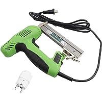Pistola de clavos recta, pistola de clavos eléctrica, herramienta de clavado manual para carpintería de muebles, enchufe CN (con…