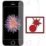 """2 x Slabo pellicola protettiva di schermo alta protezione per iPhone SE """"Shockproof"""" Antirottura - MADE IN GERMANY"""