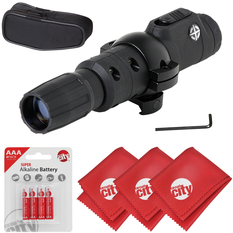 Circuit City Sightmark IR-805 Compact Infrared IR Illuminator Flashlight w/Batteries + Microfibers (SM19075) by Circuit City (Image #1)